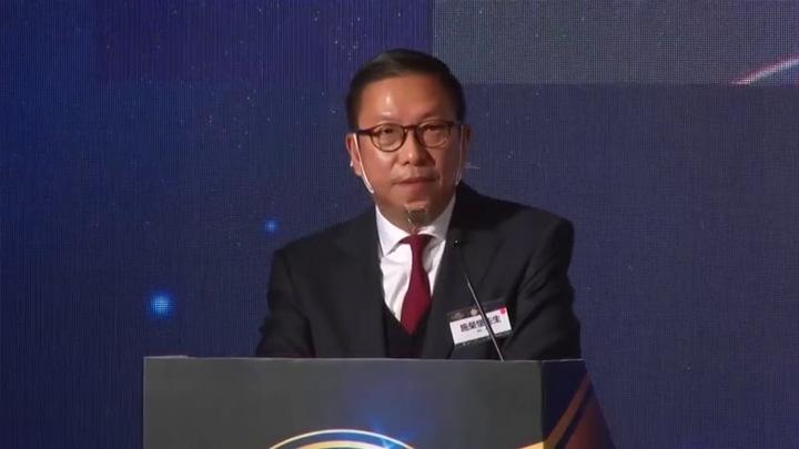2020第八屆港股100強頒獎典禮 - 施榮懷先生演講